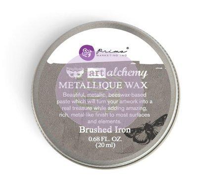 Art Alchemy - Brushed Iron - Metallique Wax by Finnabair