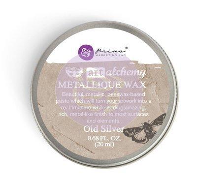 Art Alchemy - Old Silver - Metallique Wax by Finnabair
