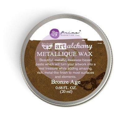 Art Alchemy - Bronze Age - Metallique Wax by Finnabair
