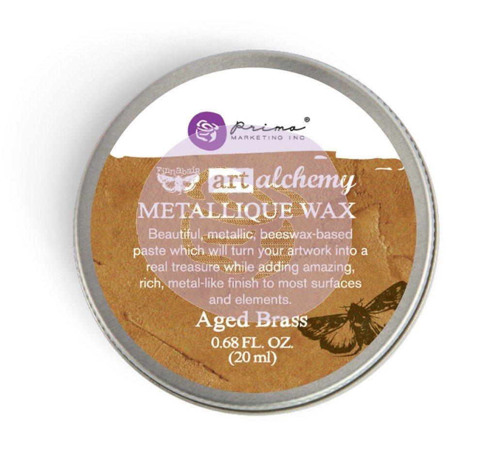 Art Alchemy - Metallique Wax - Aged Brass