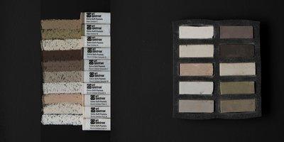Art Spectrum Extra Soft Square Pastels - Umber Earths - Set of 10