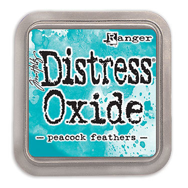 Distress Oxide Ink Pad - Peacock Feathers