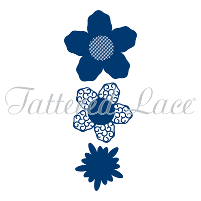Tattered Lace - Lavish Blooms Aster Die