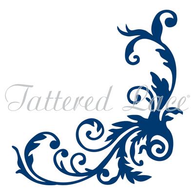 Tattered Lace - Tumbling Flourish Die