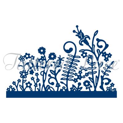 Tattered Lace - Panorama Grass Medium Die
