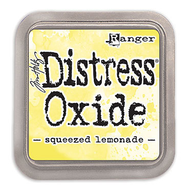Distress Oxide Ink Pad - Squeezed Lemon