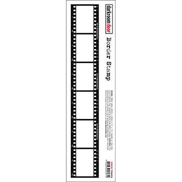 Darkroom Door Filmstrip Border Stamp