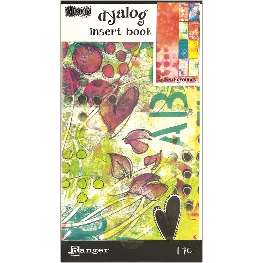 Dyan Reaveley's Dylusions Dyalog Insert Books - Backgrounds