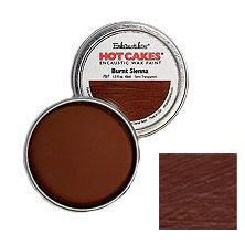 Enkaustikos Hot Cakes - Burnt Sienna 1.5oz - Encaustic Wax Paint