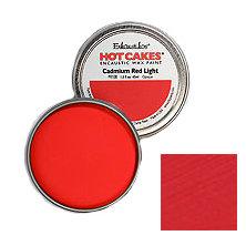 Enkaustikos Hot Cakes - Cadmium Red Light 1.5oz - Encaustic Wax Paint