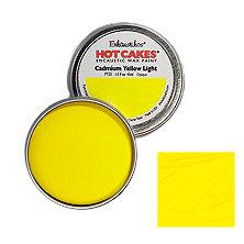 Enkaustikos Hot Cakes - Cadmium Yellow Light 1.5oz - Encaustic Wax Paint