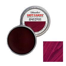 Enkaustikos Hot Cakes - Alizarin Crimson 1.5oz - Encaustic Wax Paint