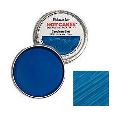Enkaustikos Hot Cakes - Cerulean Blue 1.5oz - Encaustic Wax Paint