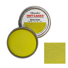 Enkaustikos Hot Cakes - Citron Green 1.5oz - Encaustic Wax Paint