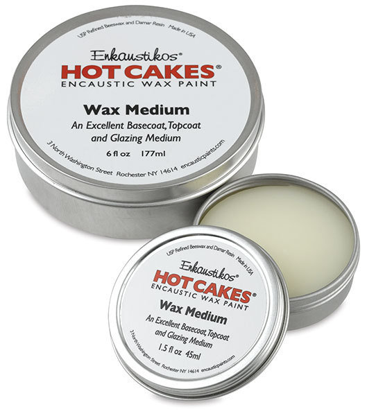 Enkaustikos Hot Cakes - Wax Medium 1.5oz - Encaustic Wax Paint