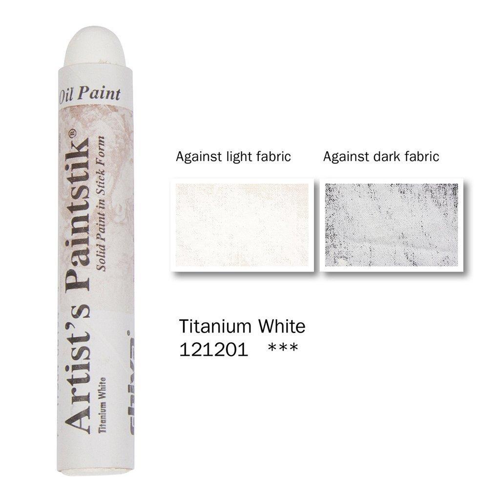Shiva Paintstik Artist Colours - Titanium White