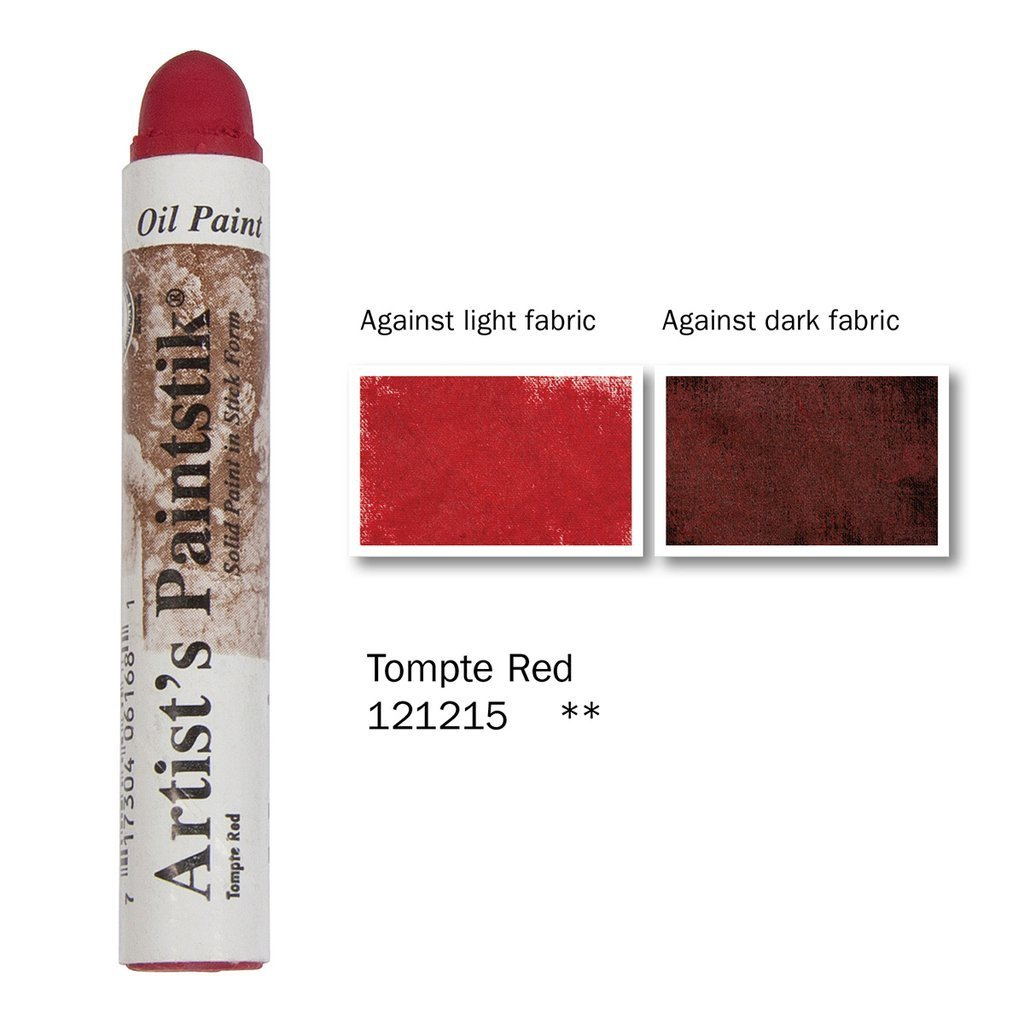 Shiva Paintstik Artist Colours - Tompte Red