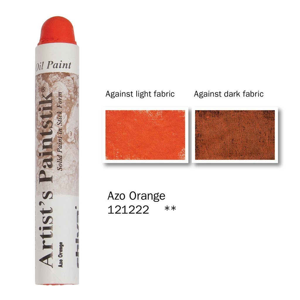 Shiva Paintstik Artist Colours - Azo Orange