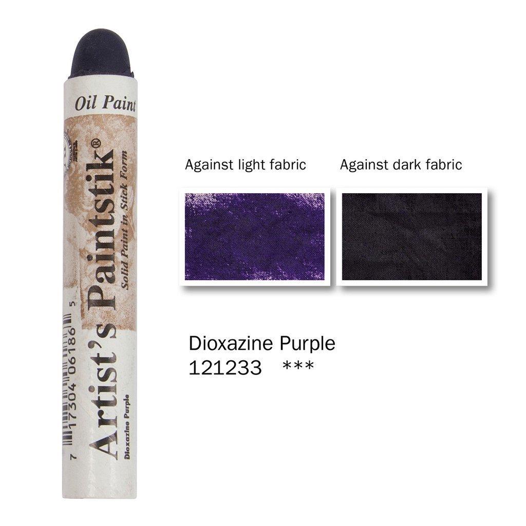 Shiva Paintstik Artist Colours - Dioxazine Purple