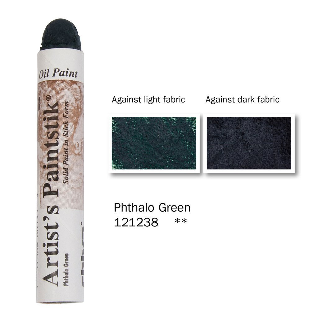 Shiva Paintstik Artist Colours - Phthalo Green