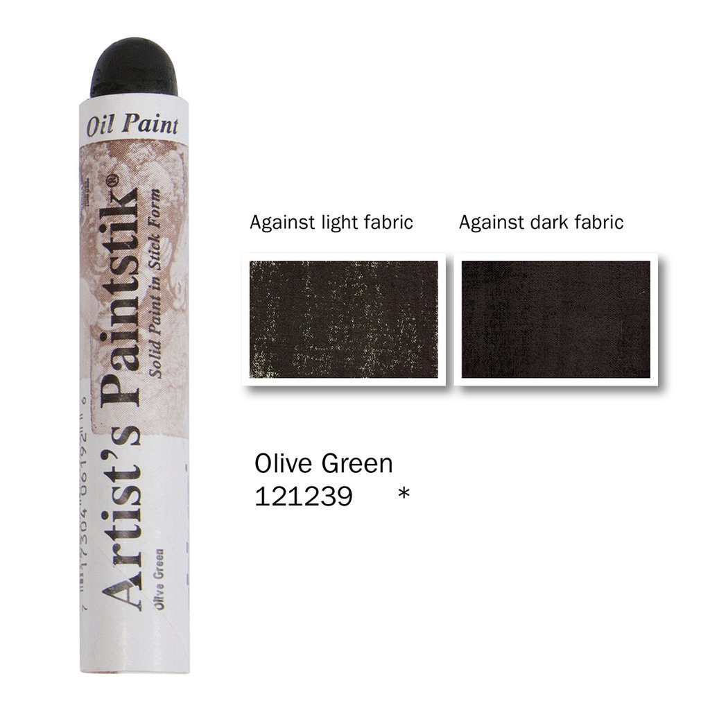 Shiva Paintstik Artist Colours - Olive Green