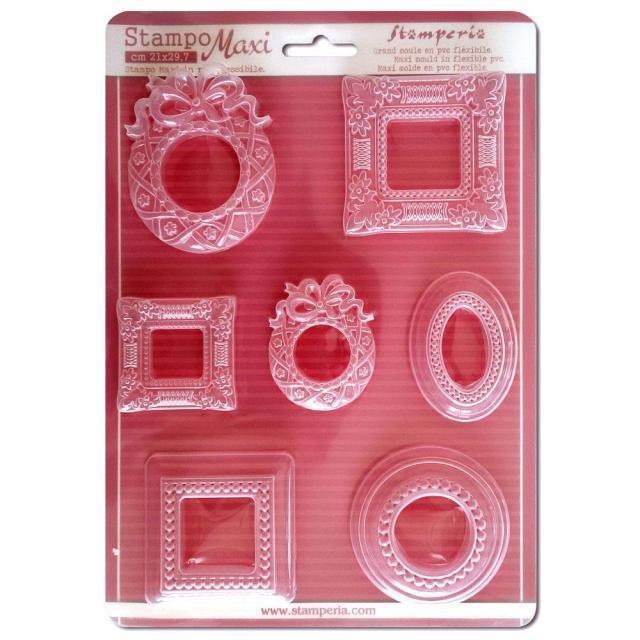 Stamperia Soft Maxi Moulds - Frames