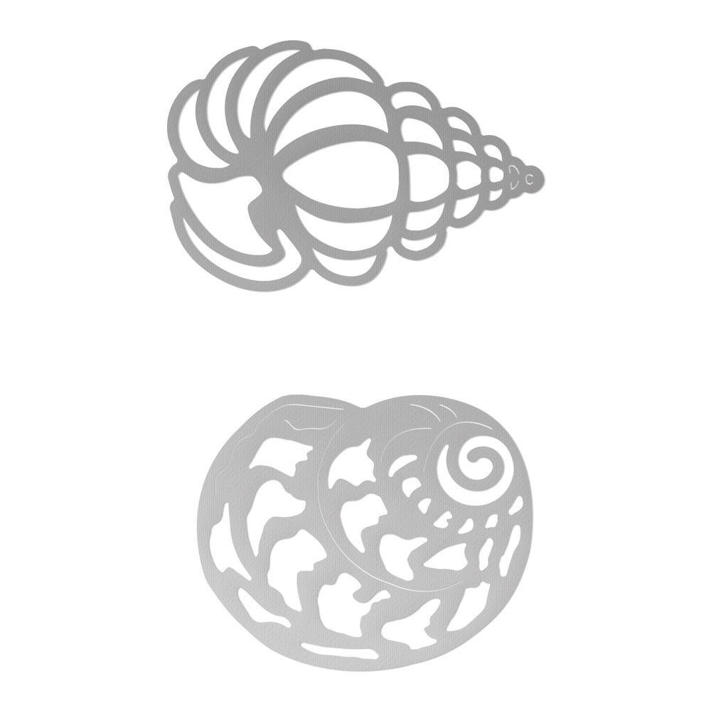 Couture Creations Seaside and Me - Seashells Set Die (2pc)