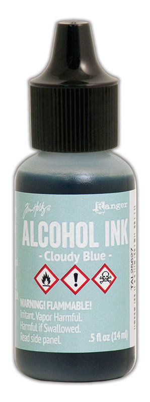 Tim Holtz® Alcohol Ink - Cloudy Blue