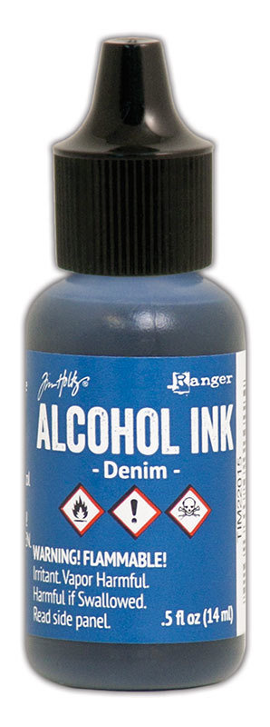 Tim Holtz® Alcohol Ink - Denim