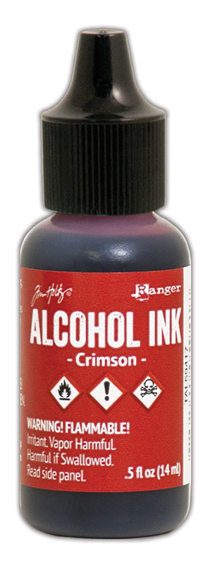 Tim Holtz® Alcohol Ink - Crimson