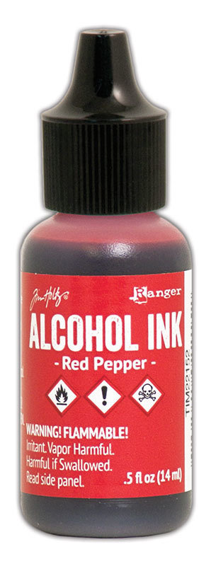 Tim Holtz® Alcohol Ink - Red Pepper