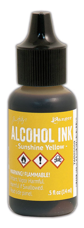Tim Holtz® Alcohol Ink - Sunshine Yellow