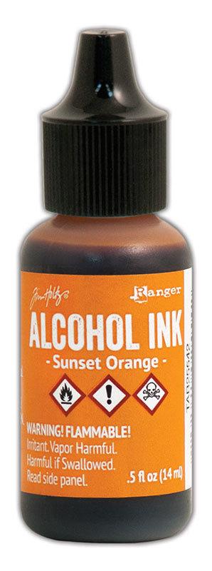 Tim Holtz® Alcohol Ink - Sunset Orange