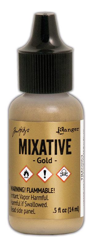 Tim Holtz® Alcohol Ink - Gold Mixative