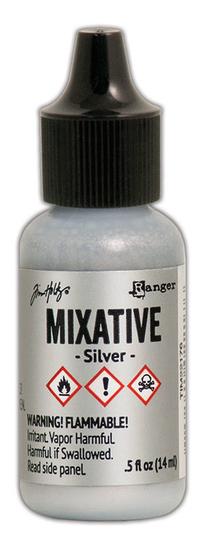 Tim Holtz® Alcohol Ink - Silver Mixative