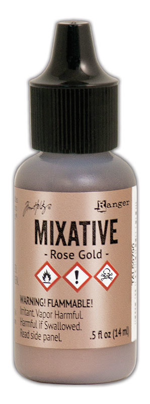 Tim Holtz® Alcohol Ink - Rose Gold Mixative