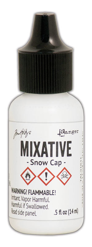 Tim Holtz® Alcohol Ink - Snow Cap Mixative