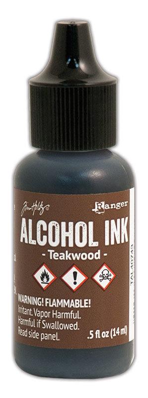 Tim Holtz® Alcohol Ink - Teakwood