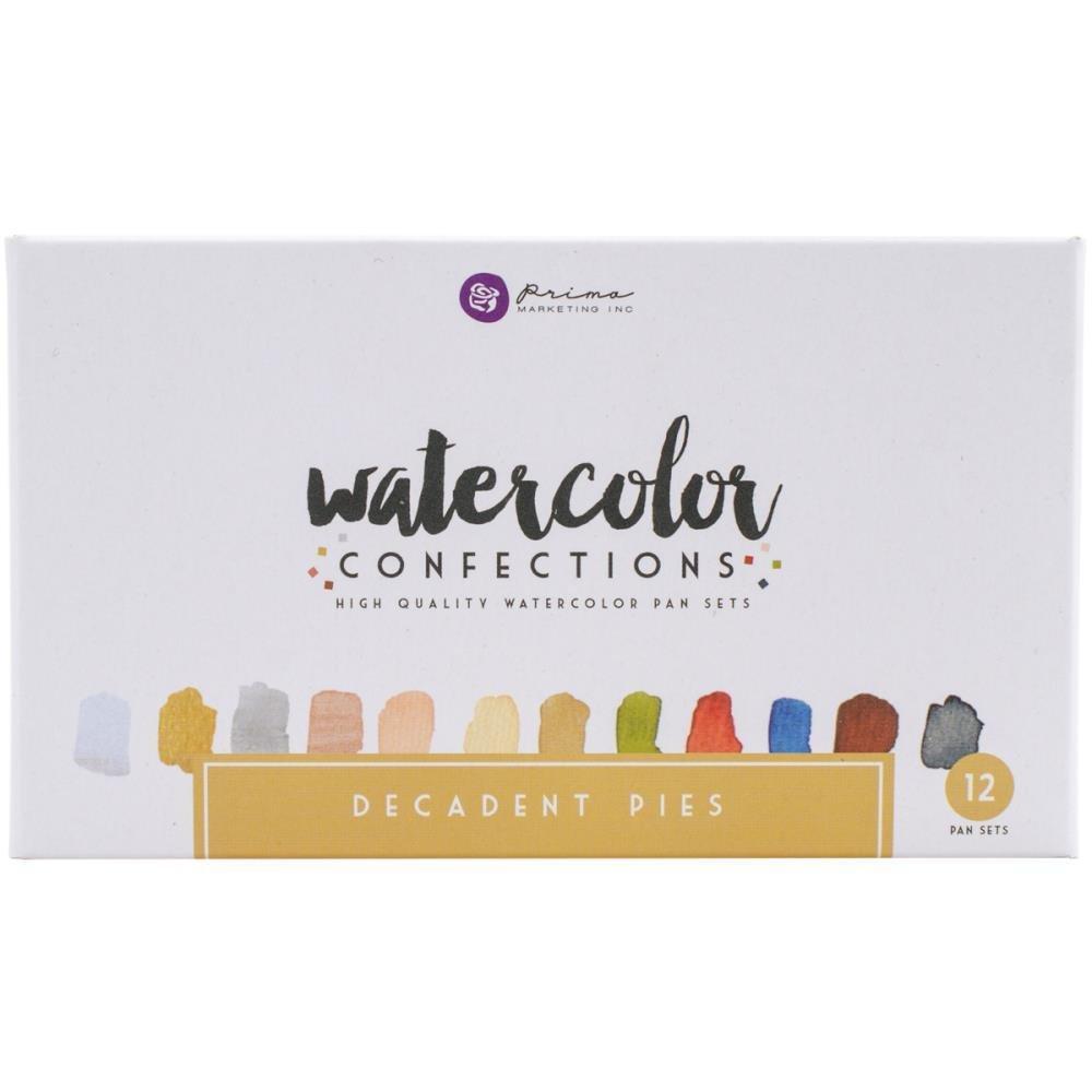 Prima Marketing Watercolour Confections- Decadent Pies