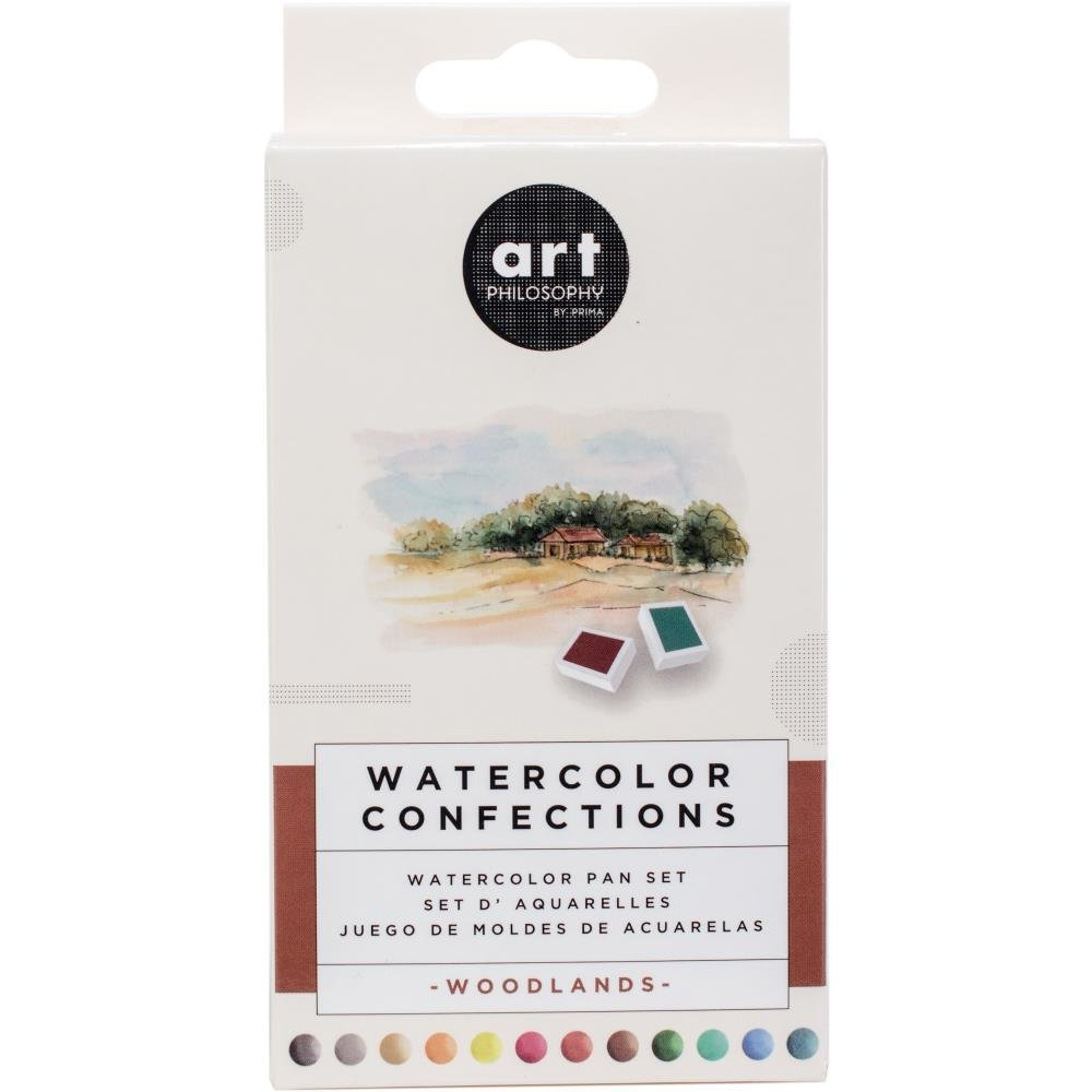 Prima Marketing Watercolour Confections- Woodlands