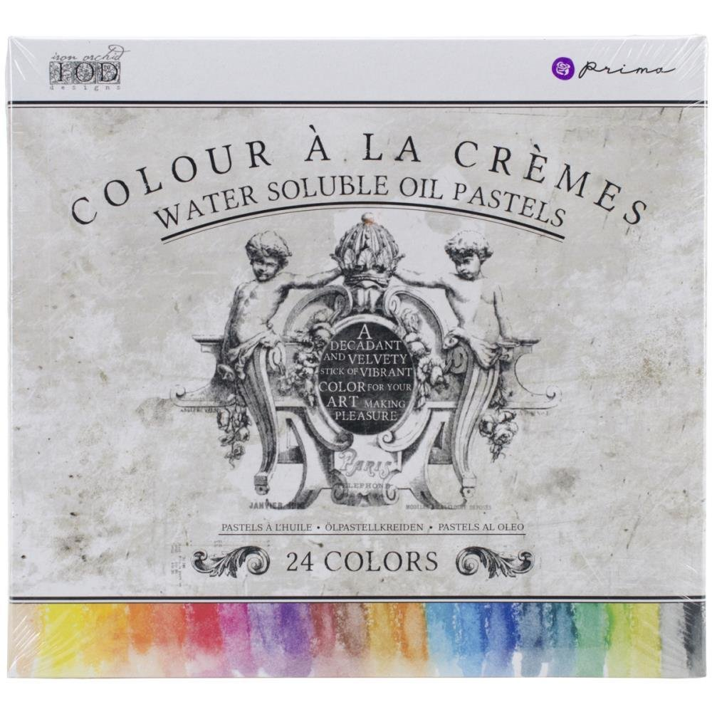 Iron Orchid Designs Water Soluble Oil Pastels - 24 Pack