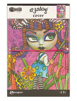 Dyan Reaveley's Dylusions Dyalog Cover - Believe