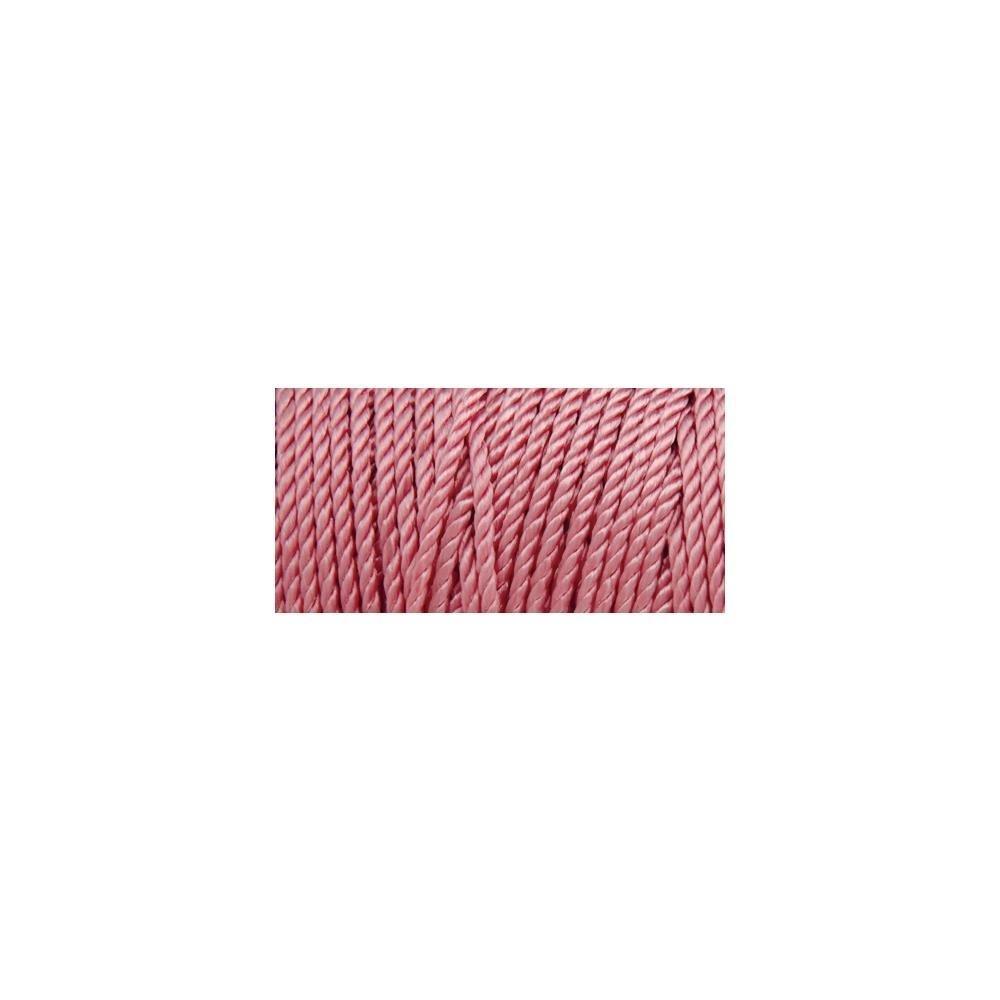 Iris Nylon Thread Size 18 - Floral Pink (Macrame)