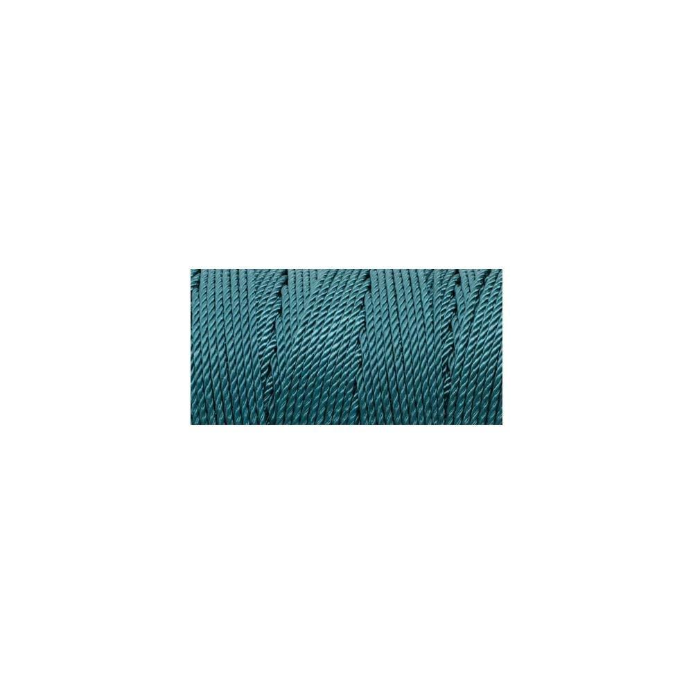 Iris Nylon Thread Size 18 - Teal (Macrame)