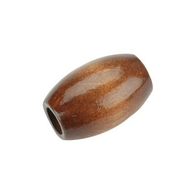 Oval Wood Beads 32mm x 22mm - Maple (Pack of 6)