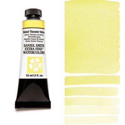Nickel Titanate Yellow 15ml Tube – DANIEL SMITH Extra Fine Watercolour