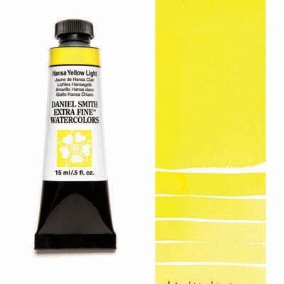Hansa Yellow Light 15ml Tube – DANIEL SMITH Extra Fine Watercolour
