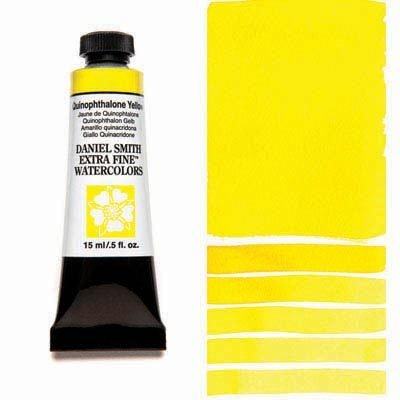 Quinophthalone Yellow 15ml Tube – DANIEL SMITH Extra Fine Watercolour