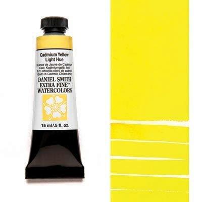 Cadmium Yellow Light Hue 15ml Tube – DANIEL SMITH Extra Fine Watercolour