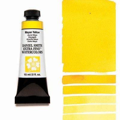 Mayan Yellow 15ml Tube – DANIEL SMITH Extra Fine Watercolour